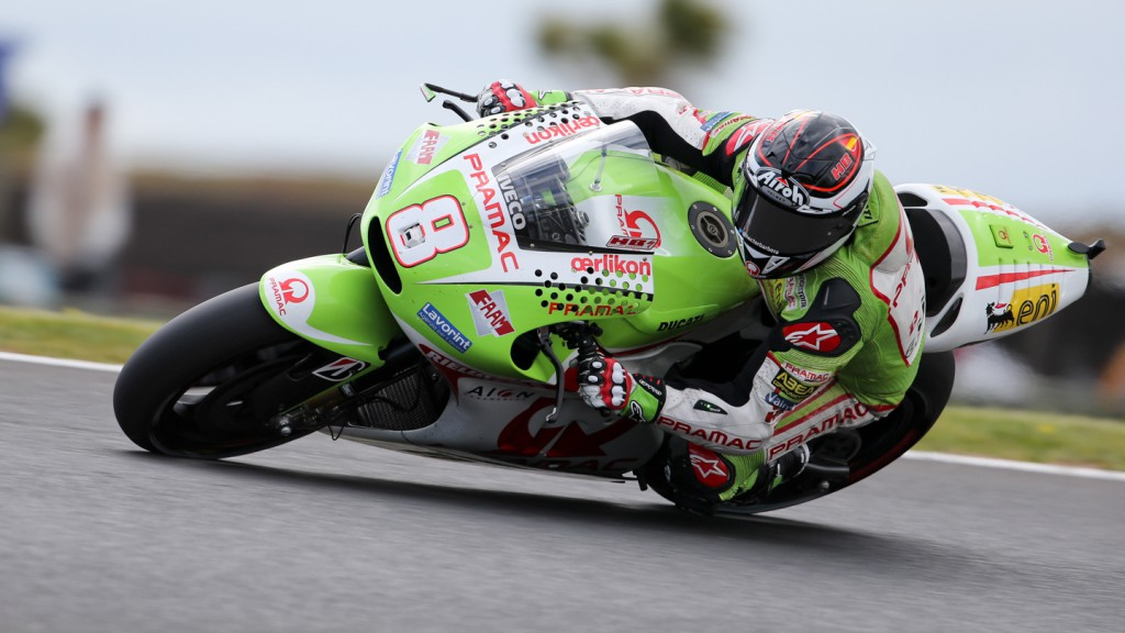 Hector Barbera, Pramac Racing Team, Phillip Island FP2