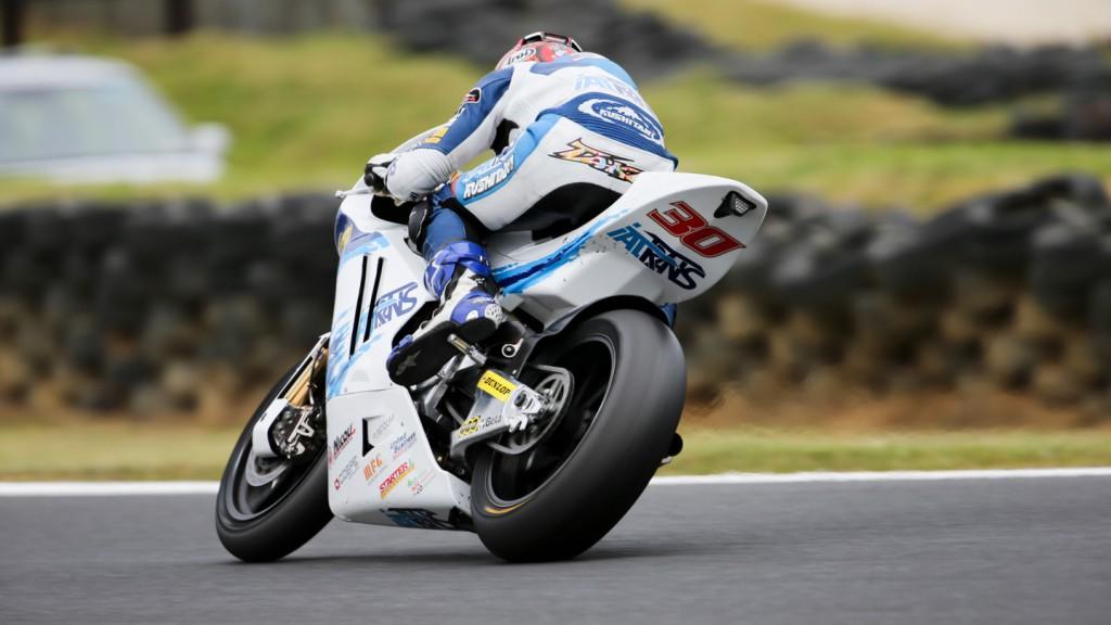 Takaaki Nakagami, Italtrans Racing Team, Phillip Island FP2