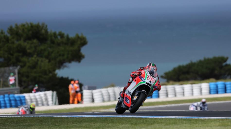 motogp.com · Nicky Hayden, Ducati Team, Phillip Island FP2