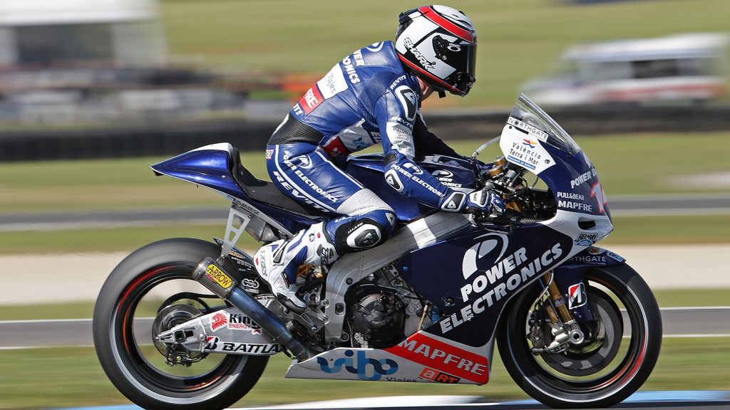 Randy de Puniet, Power Electronics Aspar, Phillip Island FP2