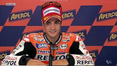 Misano 2012 - MotoGP - QP - Interview - Dani Pedrosa
