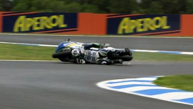 Phillip Island 2012 - MotoGP - QP - Action - Kris McLaren - Crash