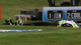 Phillip Island 2012 - MotoGP - FP3 - Action - Hector Barbera - Crash