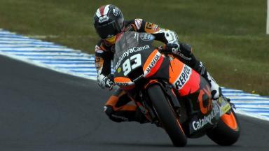 Phillip Island 2012 - Moto2 - FP3 - Action - Marc Marquez