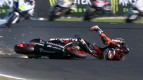 Phillip Island 2012 - Moto2 - QP - Action - Alex De Angelis - Crash