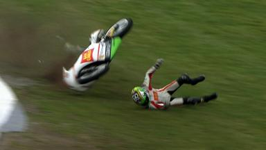 Phillip Island 2012 - Moto3 - FP3 - Action - Niccolò Antonelli - Crash
