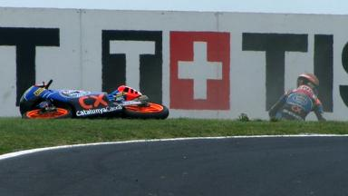Phillip Island 2012 - Moto3 - QP - Action - Alex Rins - Crash