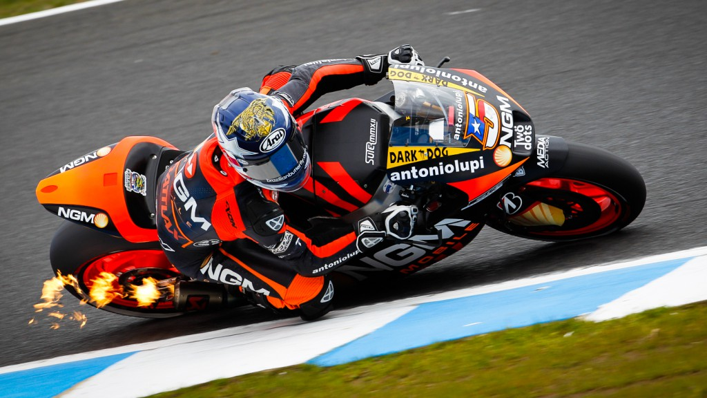Colin Edwards, NGM Mobile Forward Racing, Phlillip Island QP