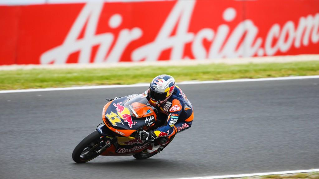 Sandro Cortese, Red Bull KTM Ajo, Phillip Island QP