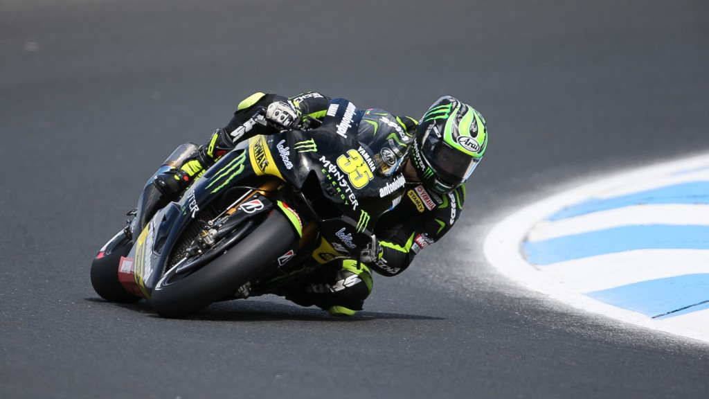 Cal Crutchlow, Monster Yamaha Tech 3, Phillip Island FP3