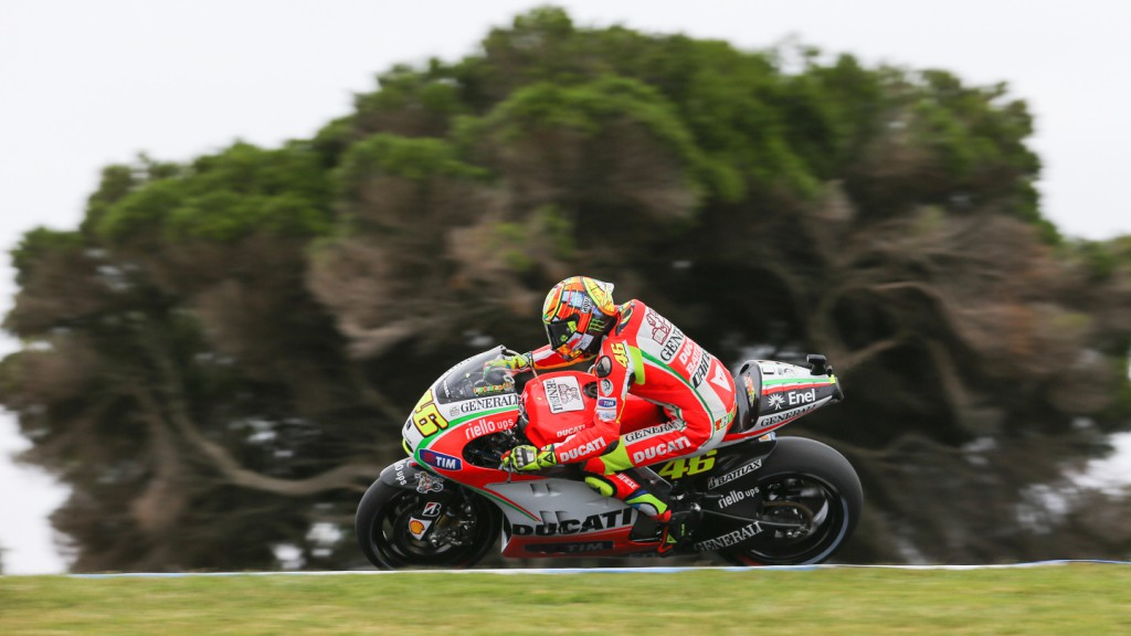 Valentino Rossi, Ducati Team, Phillip Island QP
