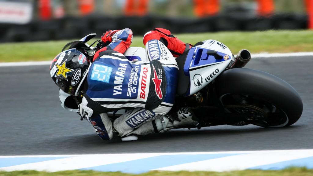 Jorge Lorenzo, Yamaha Factory Racing, Phillip Island FP3
