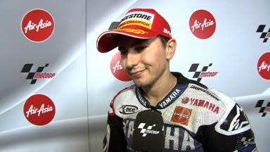 Lorenzo on unbelievable second World Title