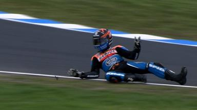 Phillip Island 2012 - Moto3 - WUP - Action - Miguel Oliveira - Crash
