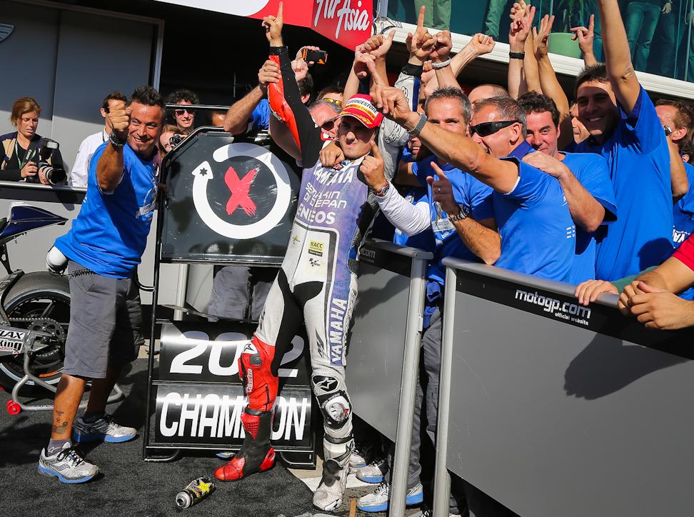 Jorge Lorenzo – 2012 MotoGP™ World Champion