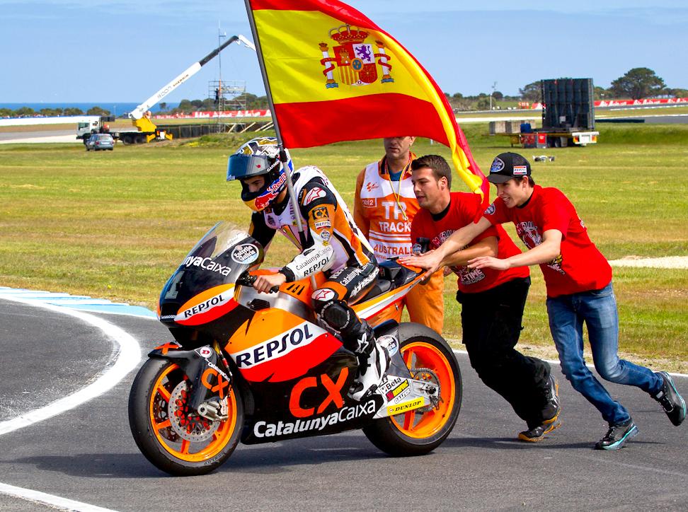 Marc Márquez – 2012 Moto2™ World Champion