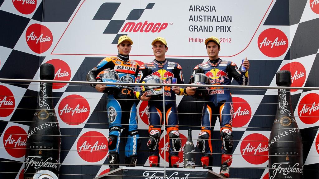 Oliveira, Cortese, Sissis, Estrella Galicia 0,0, Red Bull KTM Ajo, Phillip Island RAC