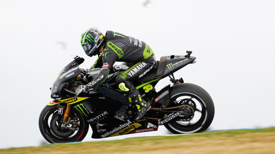 Cal Crutchlow, Monster Yamaha Tech 3, Phillip Island WUP