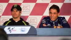 Cal Crutchlow, Aleix Espargar, Gran Premio Generali de la Comunitat Valenciana Press Conference