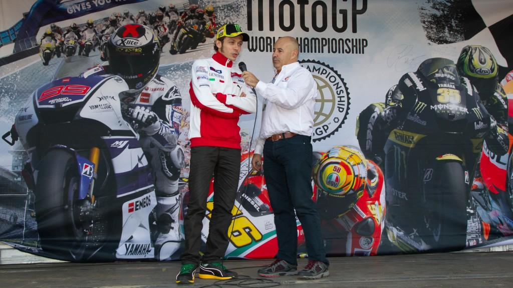 Valentino Rossi, Ducati Team, Day of Champions Valencia