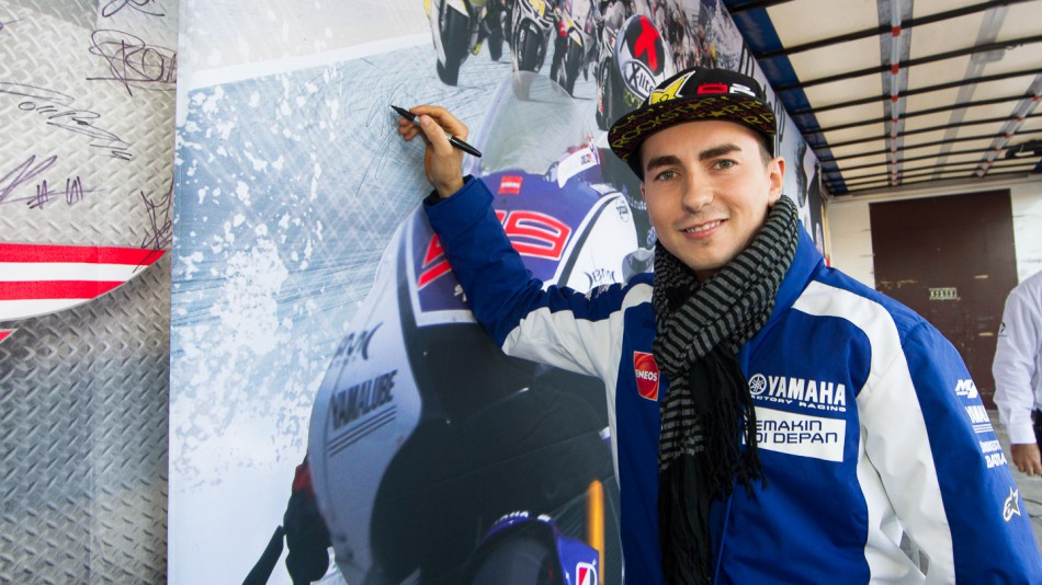Jorge Lorenzo, Yamaha Factory Racing, Day of Champions