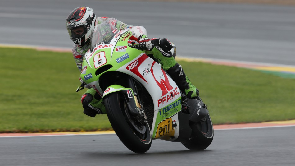 Hector Barbera, Pramac Racing Team, Valencia FP2