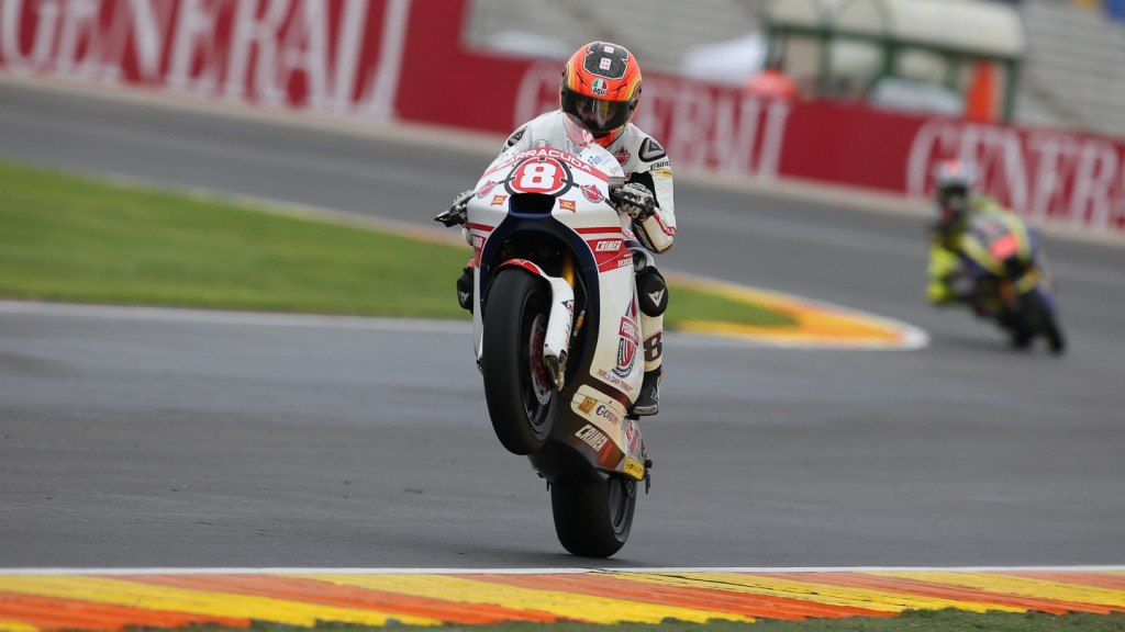 Gino Rea, Federal Oil Gresini Moto2, Valencia FP2