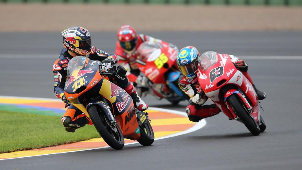 Sandro Cortese, Zulfahmi Khairuddin, Red Bull KTM Ajo, AirAsia-SIC-AJO, Valencia FP1