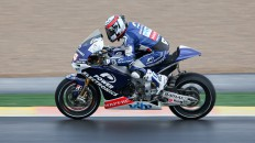 Randy de Puniet, Power Electronics Aspar, Valencia FP2