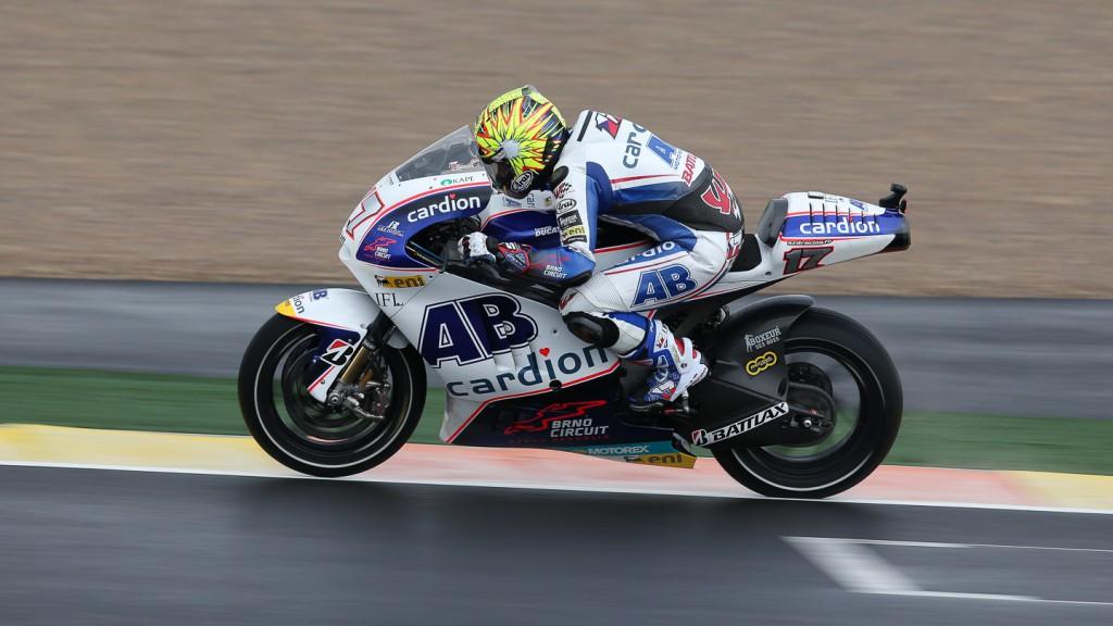 Karel Abraham, Cardion  AB Motoracing, Valencia FP1