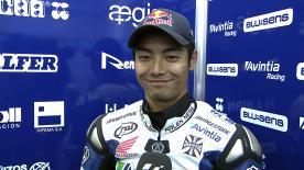 Aoyama on return to MotoGP