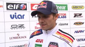 Bradl on uneventful day