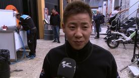 Valencia 2012 - Moto2 - FP2 - Interview - Tomoyoshi Koyama