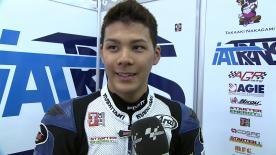 Valencia 2012 - Moto2 - FP2 - Interview - Takaaki Nakagami