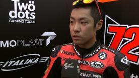 Valencia 2012 - Moto2 - FP2 - Interview - Yuki Takahashi