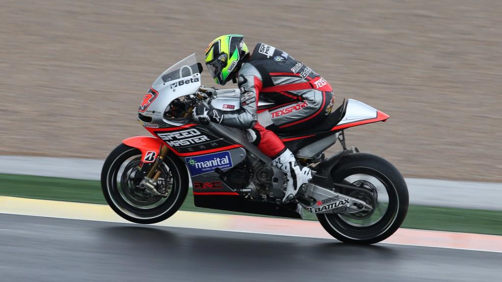 Roberto Rolfo, Speed Master, Valencia FP1