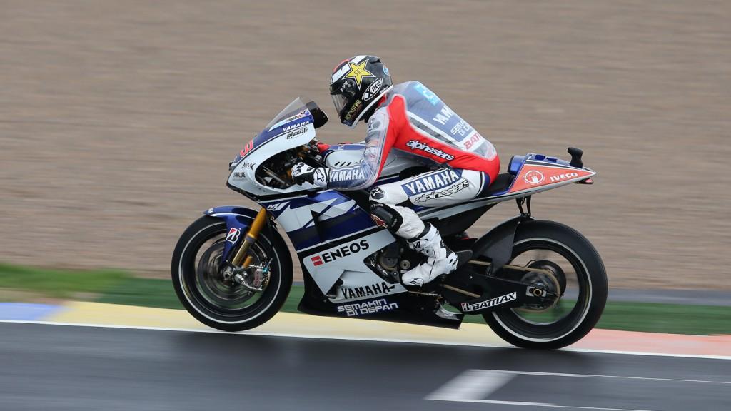 Jorge Lorenzo, Yamaha Factory Racing, Valencia FP1