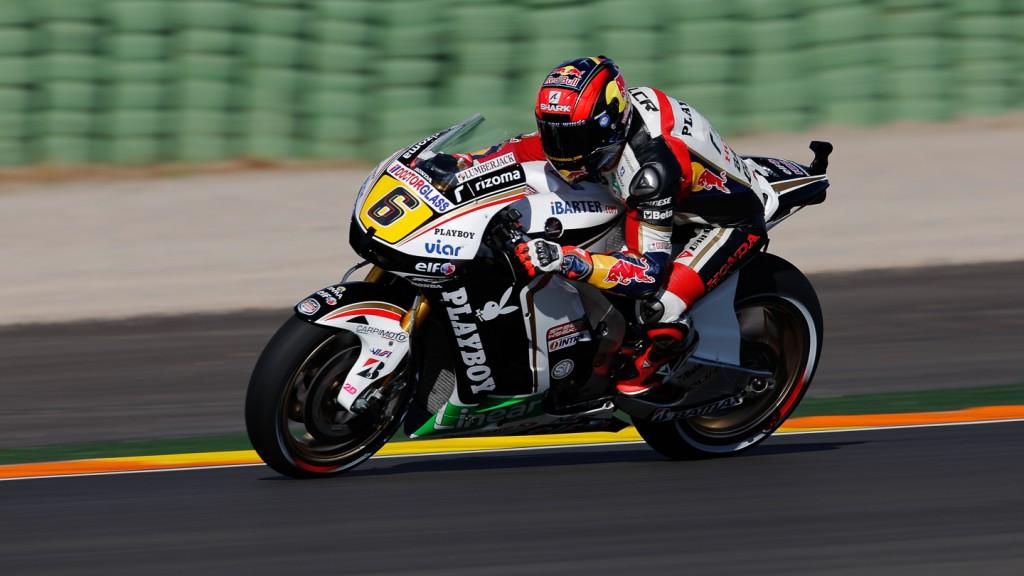 Stefan Bradl, LCR Honda MotoGP, Valencia QP