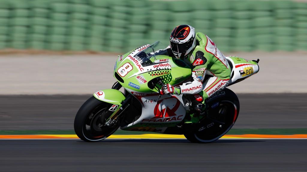 Hector Barbera, Pramac Racing Team, Valencia QP