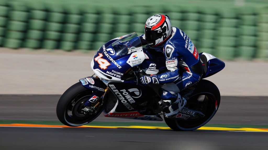 Randy de Puniet, Power Electronics Aspar, Valencia QP