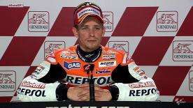 Valencia 2012 - MotoGP - QP - Interview - Casey Stoner