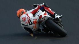 Valencia 2012 - Moto2 - FP3 - Action - Gino Rea