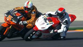 Valencia 2012 - Moto2 - FP3 - Action - Di Meglio and Zarco