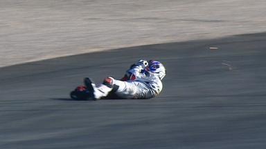 Valencia 2012 - Moto2 - QP - Action - Rafid Topan Sucipto - Crash