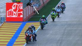 Tuenti Movil HP 40's Pol Espargaró took the honours for most pole positions in the Moto2™ class this season with eight at the Gran Premio Generali de la Comunitat Valenciana, with Tom Lüthi and Takaaki Nakagami joining him on the front row.