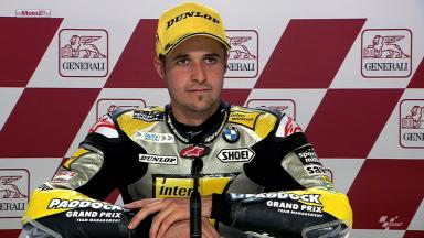 Valencia 2012 - Moto2 - QP - Interview - Thomas Luthi