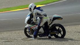 Valencia 2012 - Moto3 - QP - Action - Romano Fenati - Crash
