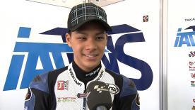 Valencia 2012 - Moto2 - QP - Interview - Takaaki Nakagami