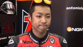 Valencia 2012 - Moto2 - QP - Interview - Yuki Takahashi