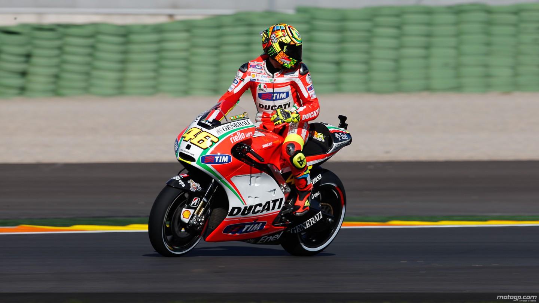 motogp.com · Valentino Rossi, Ducati Team, Valencia QP